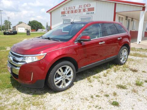 2013 Ford Edge for sale at JUDD MOTORS INC in Lancaster MO