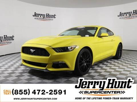 2016 Ford Mustang for sale at Jerry Hunt Supercenter in Lexington NC