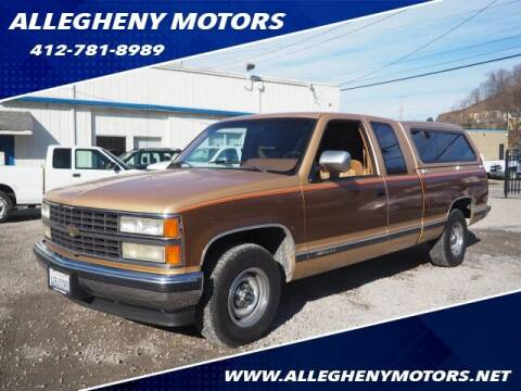 1990 Chevrolet C/K 1500 Series for sale at Allegheny Motors in Pittsburgh PA