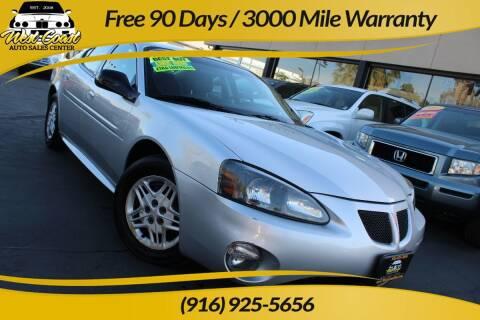 2004 Pontiac Grand Prix for sale at West Coast Auto Sales Center in Sacramento CA