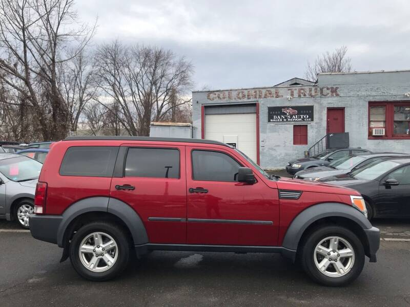 2007 Dodge Nitro for sale at Dan's Auto Sales and Repair LLC in East Hartford CT