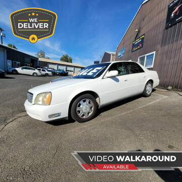 2004 Cadillac DeVille for sale at McMinnville Auto Sales LLC in Mcminnville OR