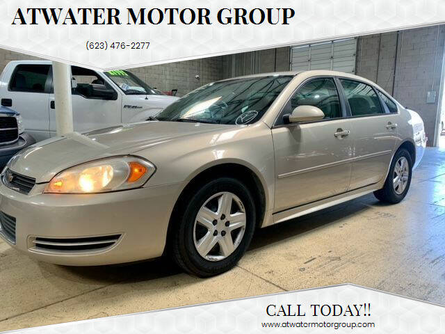 2011 Chevrolet Impala for sale at Atwater Motor Group in Phoenix AZ