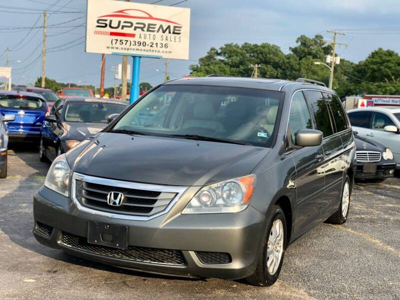 2008 Honda Odyssey for sale at Supreme Auto Sales in Chesapeake VA