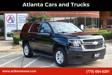 2017 Chevrolet Tahoe for sale at Atlanta Cars and Trucks in Kennesaw GA