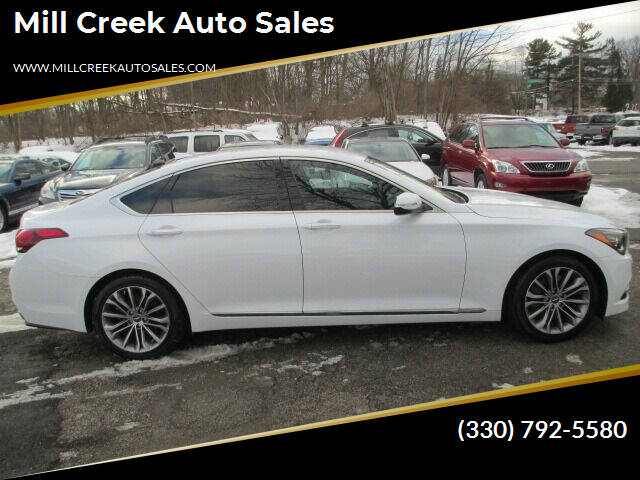2017 Genesis G80 for sale at Mill Creek Auto Sales in Youngstown OH