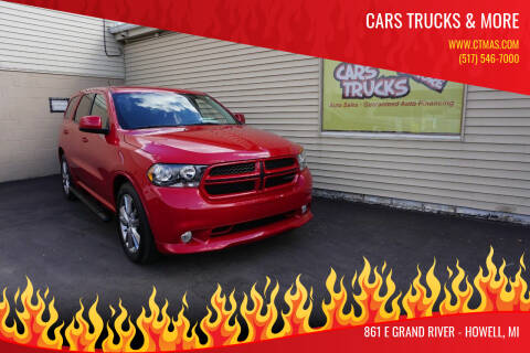 2012 Dodge Durango for sale at Cars Trucks & More in Howell MI