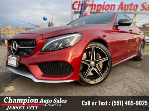 2016 Mercedes-Benz C-Class for sale at CHAMPION AUTO SALES OF JERSEY CITY in Jersey City NJ