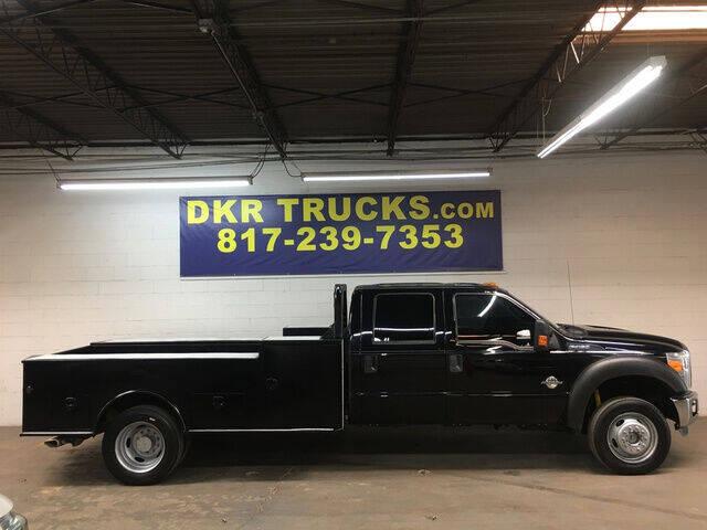 2016 Ford F-450 Super Duty for sale at DKR Trucks in Arlington TX