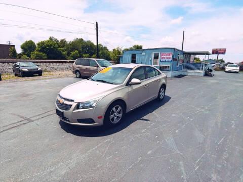 2012 Chevrolet Cruze for sale at DISCOUNT AUTO SALES in Murfreesboro TN
