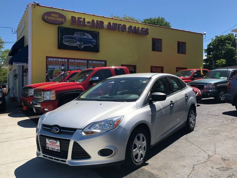2012 Ford Focus for sale at Bel Air Auto Sales in Milford CT