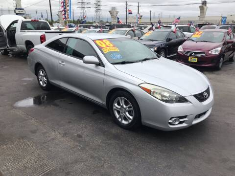 2008 Toyota Camry Solara for sale at Texas 1 Auto Finance in Kemah TX
