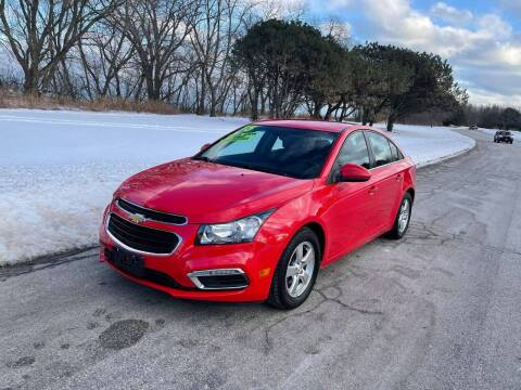 2015 Chevrolet Cruze for sale at Aleid Auto Sales in Cudahy WI