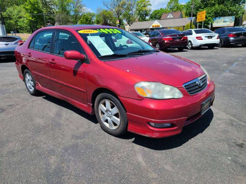 2007 Toyota Corolla for sale at Costas Auto Gallery in Rahway NJ