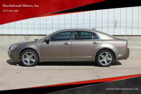 2012 Chevrolet Malibu for sale at Harchelroad Motors, Inc. in Wauneta NE