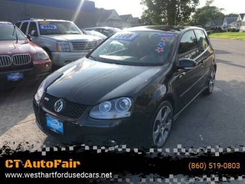 2009 Volkswagen GTI for sale at CT AutoFair in West Hartford CT