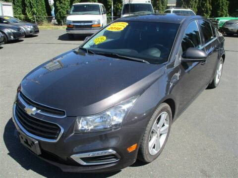 2016 Chevrolet Cruze Limited for sale at GMA Of Everett in Everett WA
