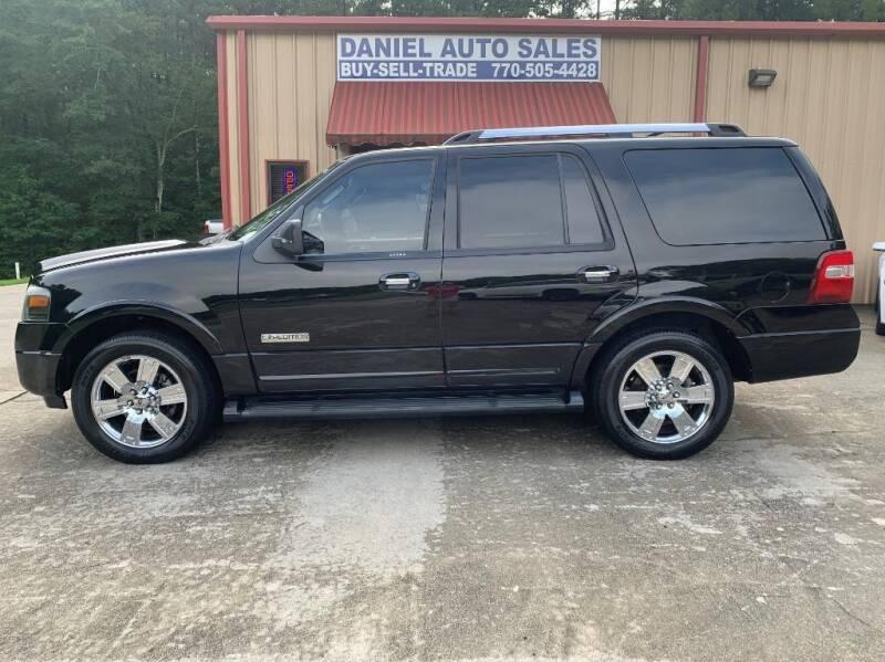 2007 Ford Expedition for sale at Daniel Used Auto Sales in Dallas GA