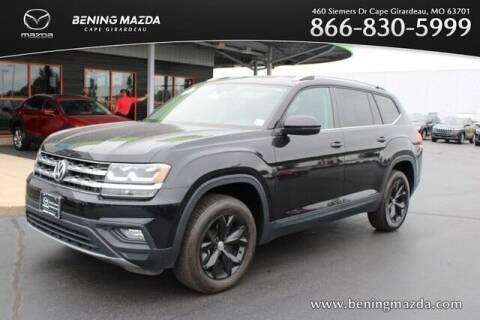 2018 Volkswagen Atlas for sale at Bening Mazda in Cape Girardeau MO