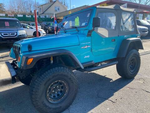 1997 Jeep Wrangler for sale at White River Auto Sales in New Rochelle NY