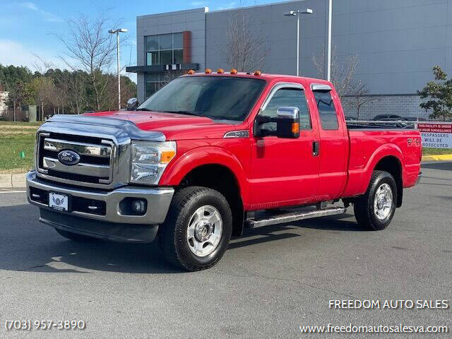 2011 Ford F-250 Super Duty for sale at Freedom Auto Sales in Chantilly VA