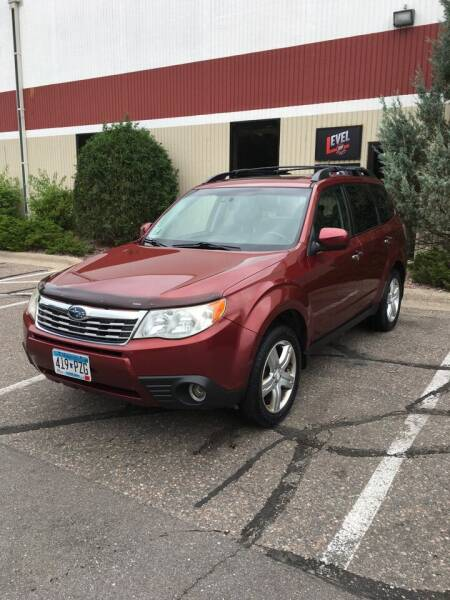 2009 Subaru Forester for sale at Specialty Auto Wholesalers Inc in Eden Prairie MN