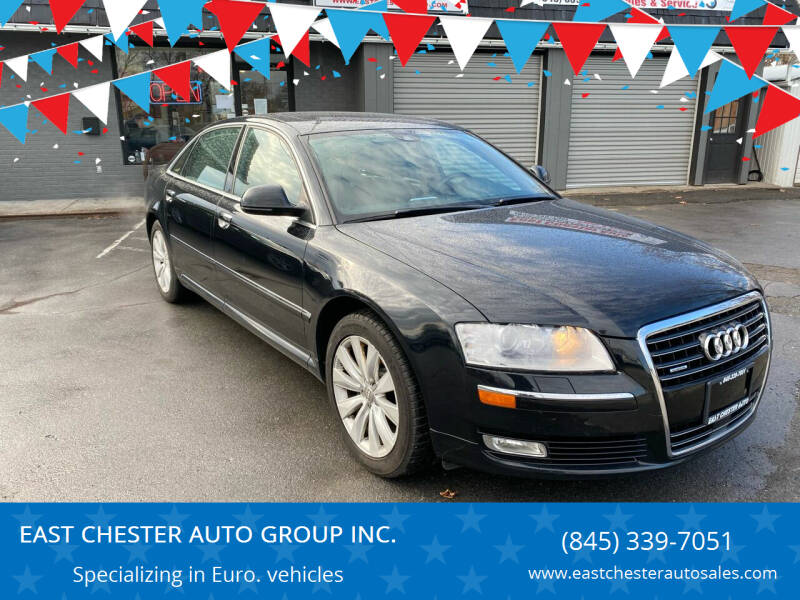 2009 Audi A8 L for sale at EAST CHESTER AUTO GROUP INC. in Kingston NY