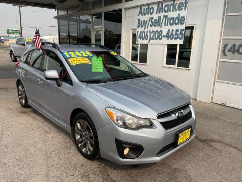 2014 Subaru Impreza for sale at Auto Market in Billings MT