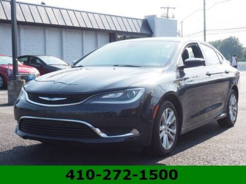 2017 Chrysler 200 for sale at Ron's Automotive in Manchester MD