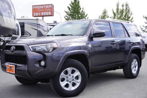 2014 Toyota 4Runner for sale at Frontier Auto & RV Sales in Anchorage AK