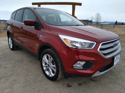 2017 Ford Escape for sale at Kevs Auto Sales in Helena MT