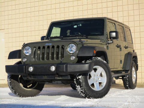2015 Jeep Wrangler Unlimited for sale at Autohaus in Royal Oak MI