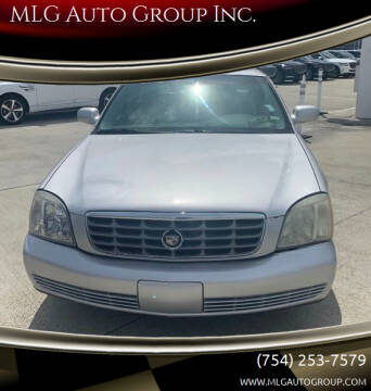 2003 Cadillac DeVille for sale at MLG Auto Group Inc. in Pompano Beach FL