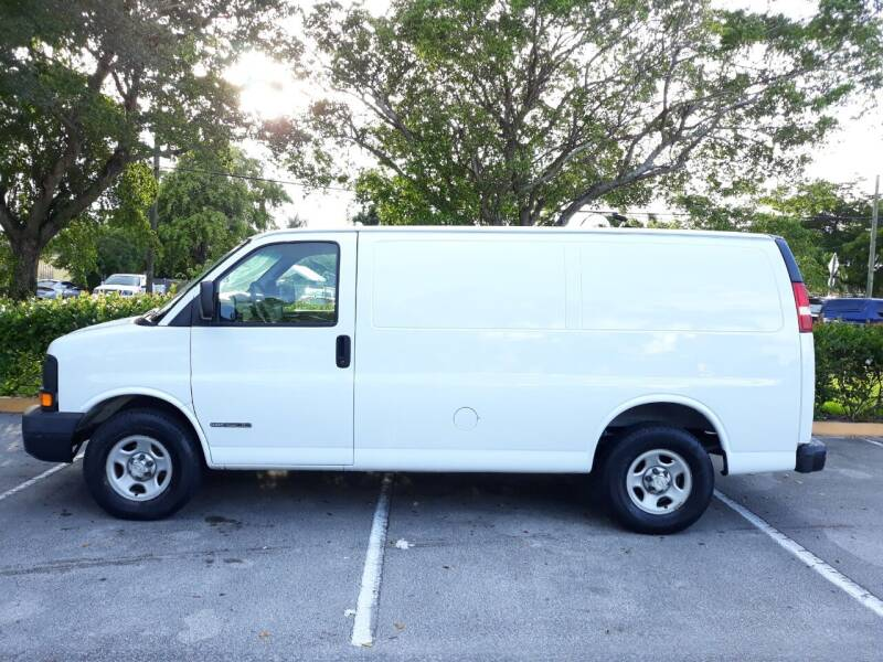 2007 Chevrolet Express Cargo for sale at Car Mart Leasing & Sales in Hollywood FL