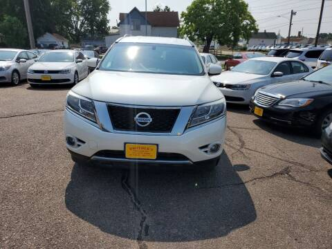 2015 Nissan Pathfinder for sale at Brothers Used Cars Inc in Sioux City IA