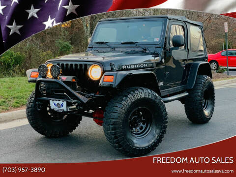 2006 Jeep Wrangler for sale at Freedom Auto Sales in Chantilly VA