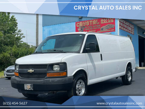 2014 Chevrolet Express Cargo for sale at Crystal Auto Sales Inc in Nashville TN