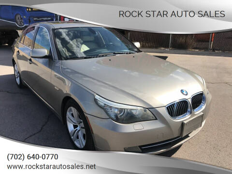 2010 BMW 5 Series for sale at Rock Star Auto Sales in Las Vegas NV