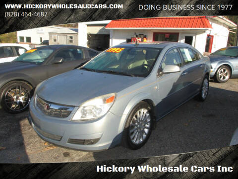 2008 Saturn Aura for sale at Hickory Wholesale Cars Inc in Newton NC