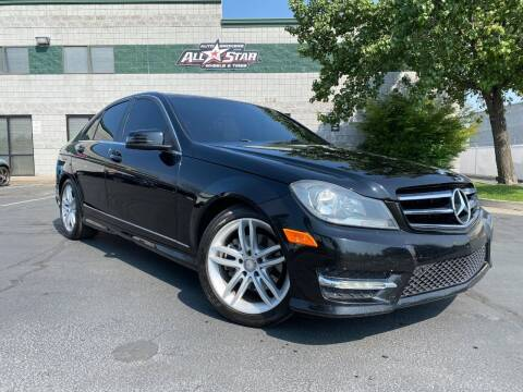 2014 Mercedes-Benz C-Class for sale at All-Star Auto Brokers in Layton UT