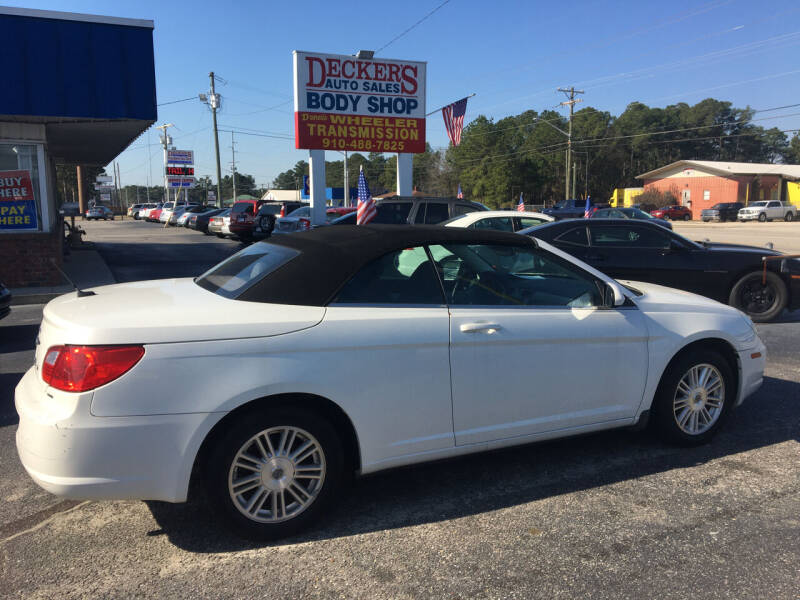 2009 Chrysler Sebring for sale at Deckers Auto Sales Inc in Fayetteville NC