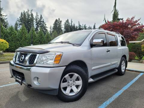 2004 Nissan Armada for sale at Silver Star Auto in Lynnwood WA