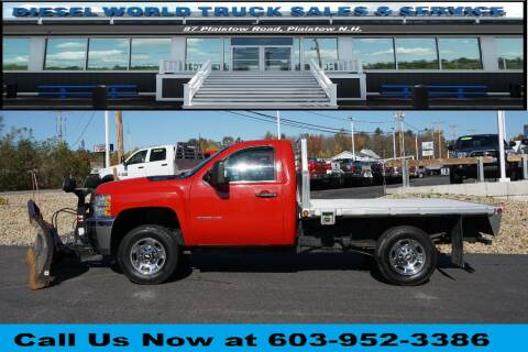 2013 Chevrolet Silverado 2500HD for sale at Diesel World Truck Sales in Plaistow NH