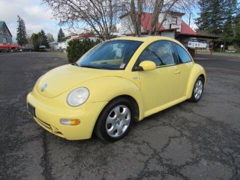 2003 Volkswagen New Beetle for sale at Triple C Auto Brokers in Washougal WA