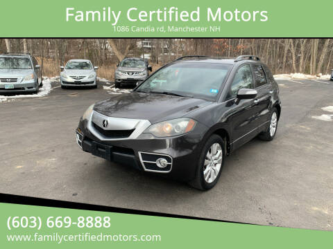 2011 Acura RDX for sale at Family Certified Motors in Manchester NH