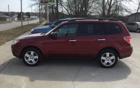 2009 Subaru Forester for sale at 6th Street Auto Sales in Marshalltown IA