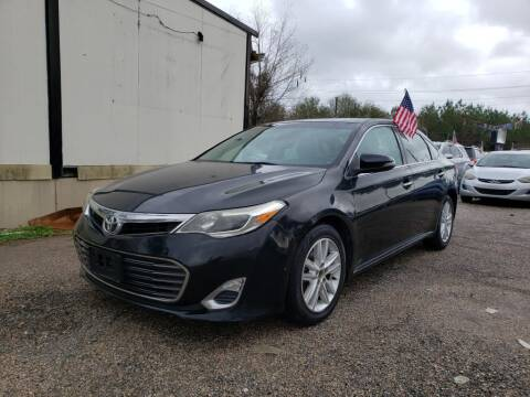 2013 Toyota Avalon for sale at Jump and Drive LLC in Humble TX