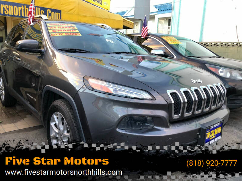 2014 Jeep Cherokee for sale at Five Star Motors in North Hills CA
