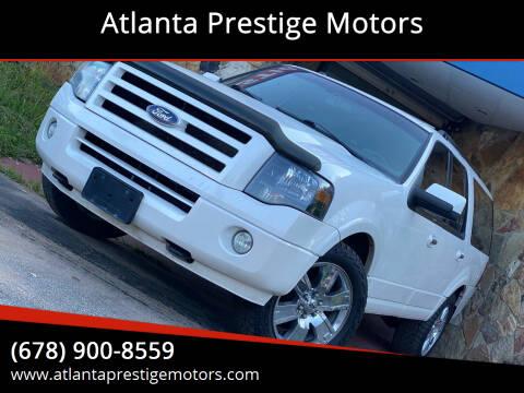 2010 Ford Expedition EL for sale at Atlanta Prestige Motors in Decatur GA