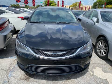 2015 Chrysler 200 for sale at America Auto Wholesale Inc in Miami FL